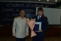 Выпускница юридического факультета ЧИ БГУ - лейтенант юстиции