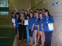 Сборная института по плаванию уехала на соревнования